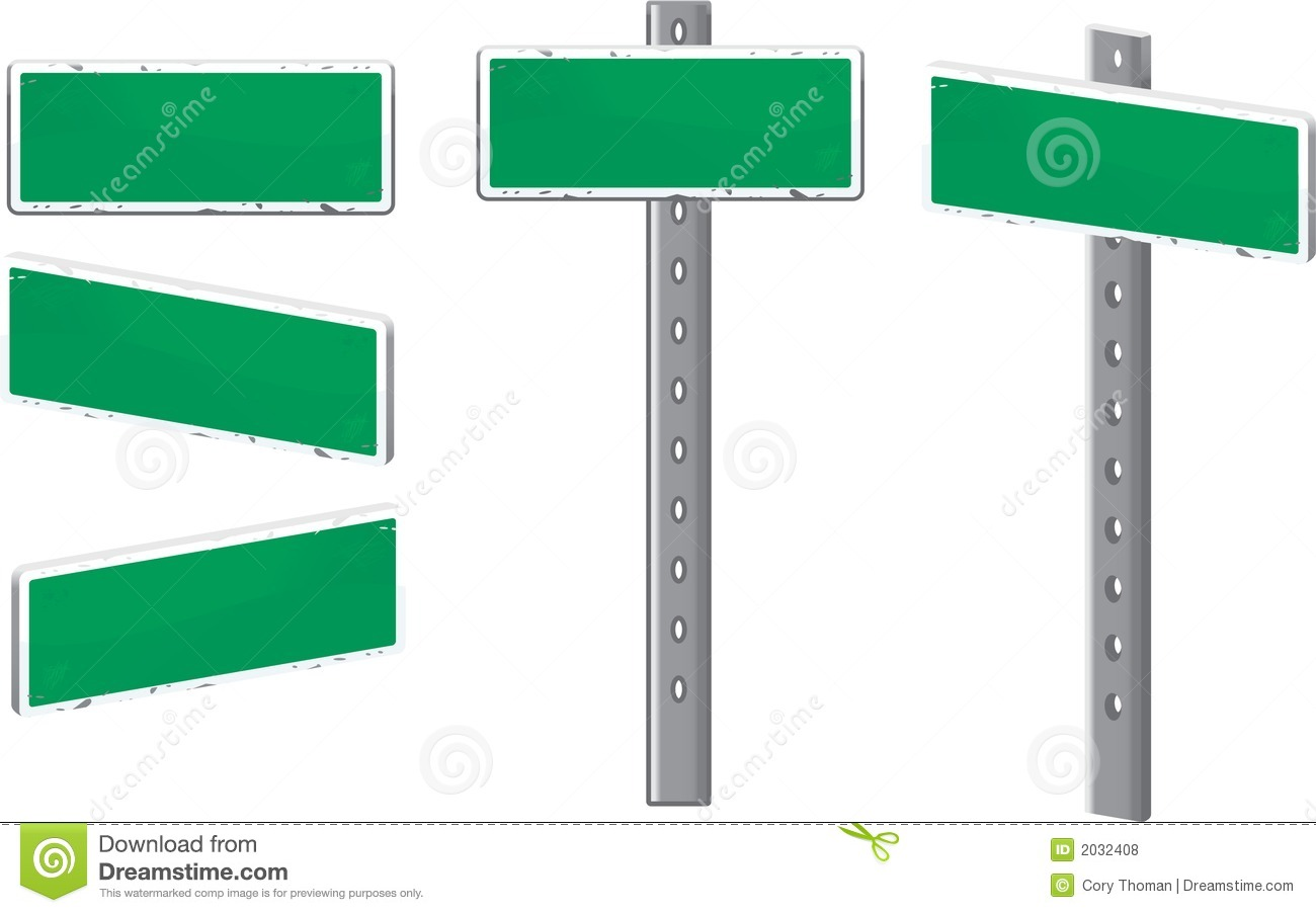 Street Sign Royalty Free Stock Photos.