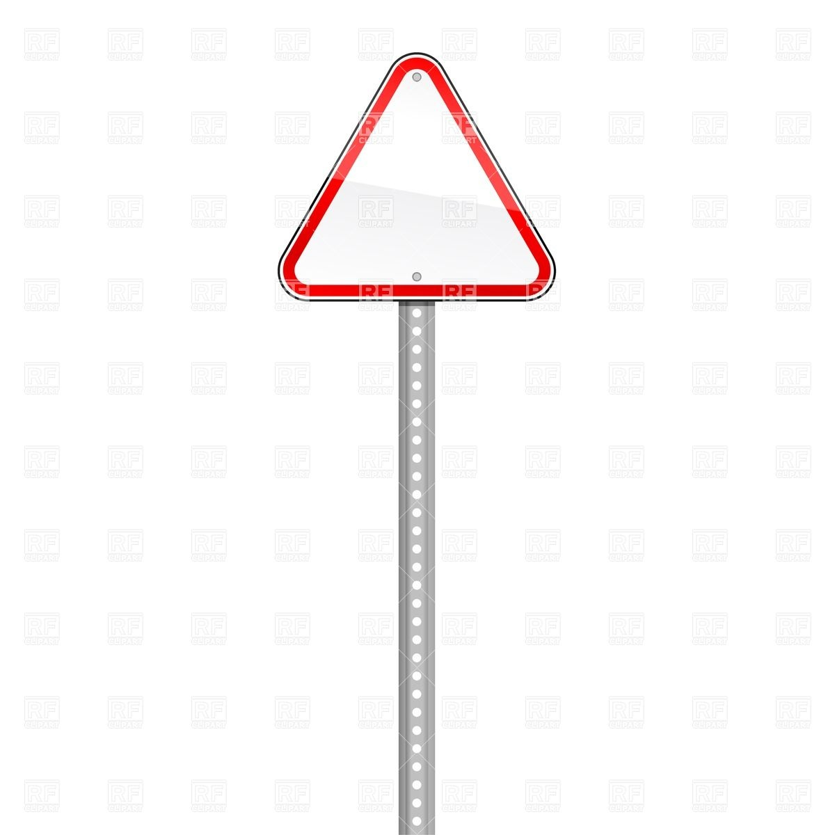 Light Pole Templates: Metal Traffic Pole Clipart