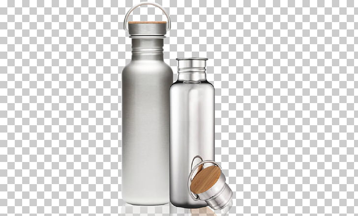 Water Bottles Canteen Stainless steel Metal, bottle PNG.
