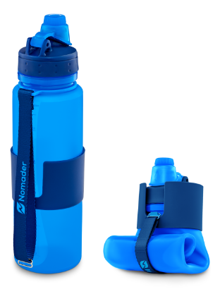 Collapsible Water Bottle for Travel Hydration.