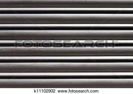 Clip Art of Metal black and white bark background k11102902.