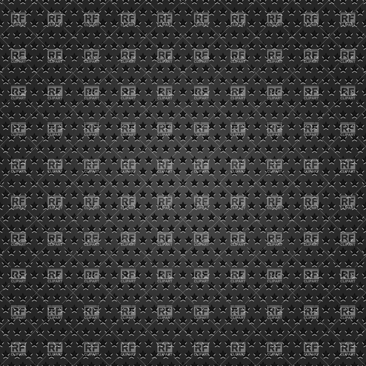 Metal black background with star.