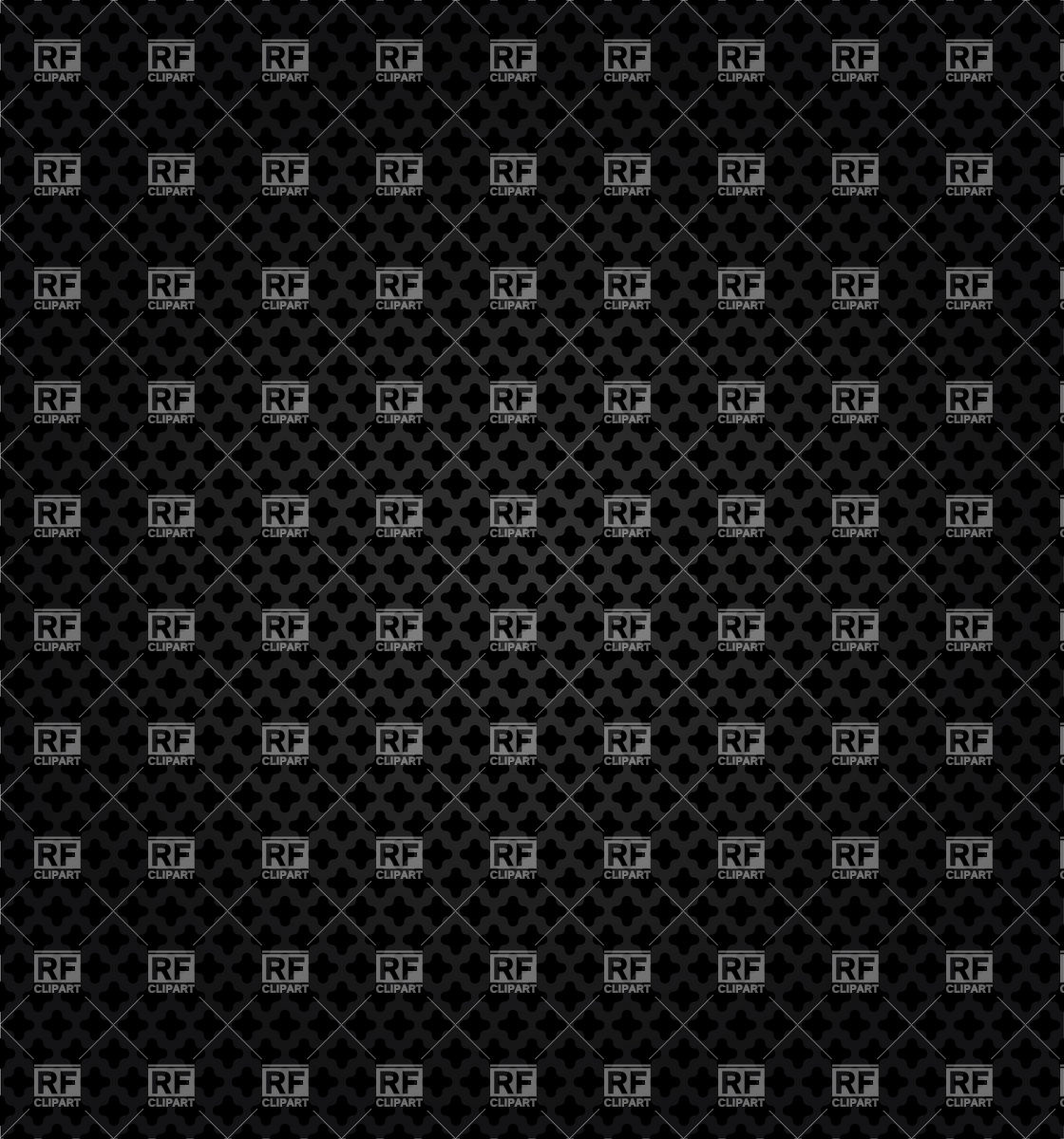 Metal black perforated background Vector Image #18491.