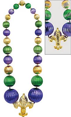 Mardi Gras Beads & Necklaces.