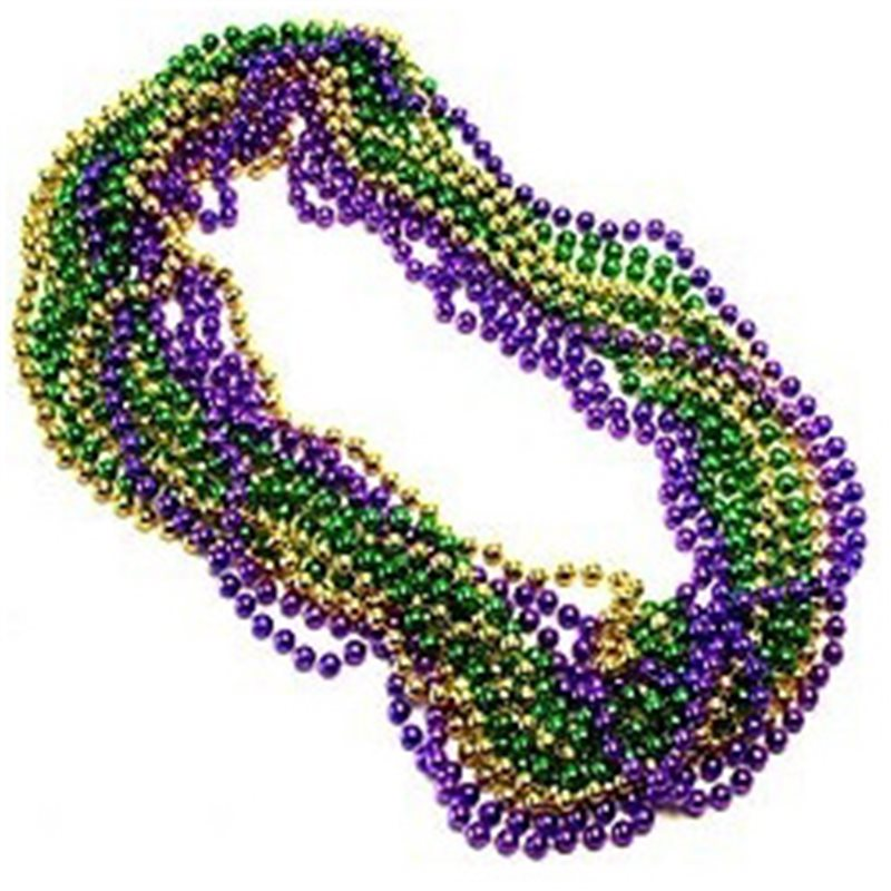 Gras Globe Bead Necklaces.