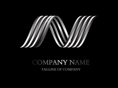 3d Black Metallic logo by Rahul Sahu on Dribbble.