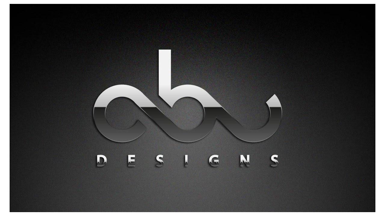 logo design tutorial metallic text effect graphic styles illustrator.