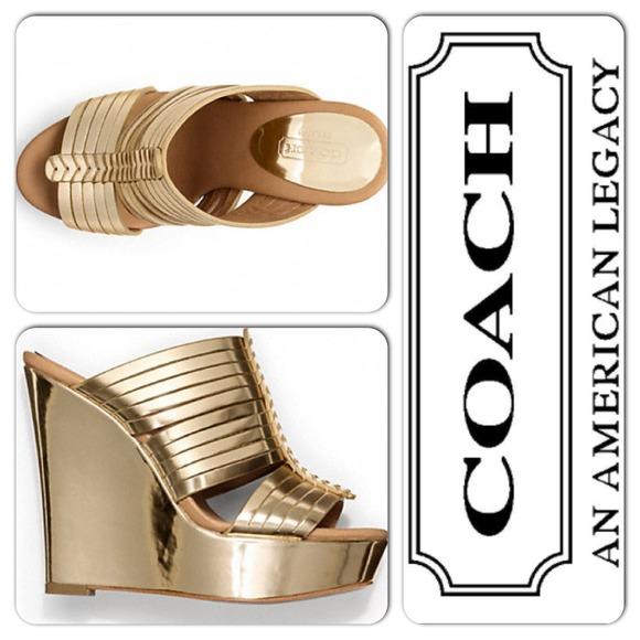 67% off Coach Shoes.