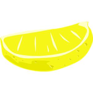 Lemon Wedge Clipart.