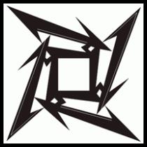 Metallica logo clipart.