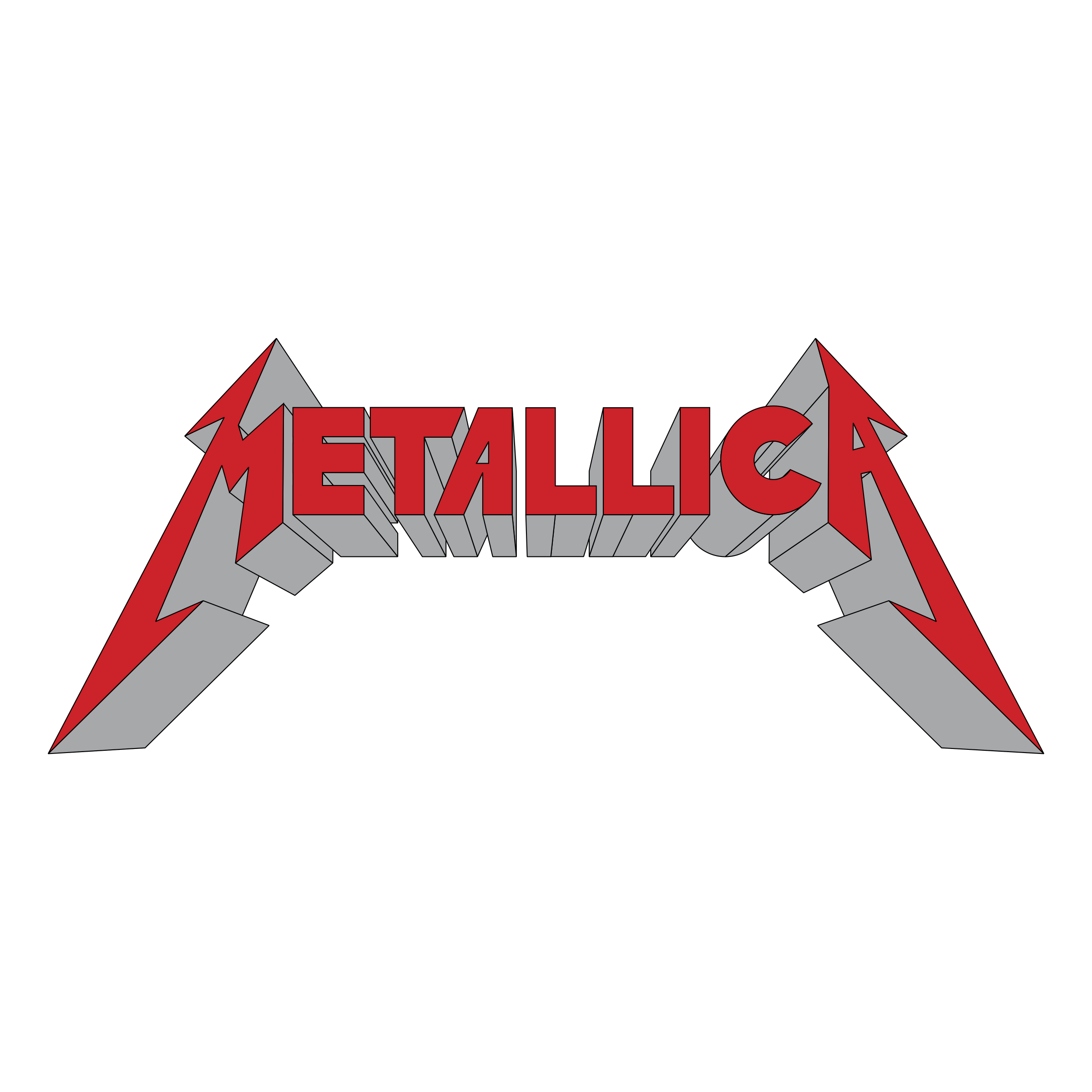Metallica Logo PNG Transparent & SVG Vector.