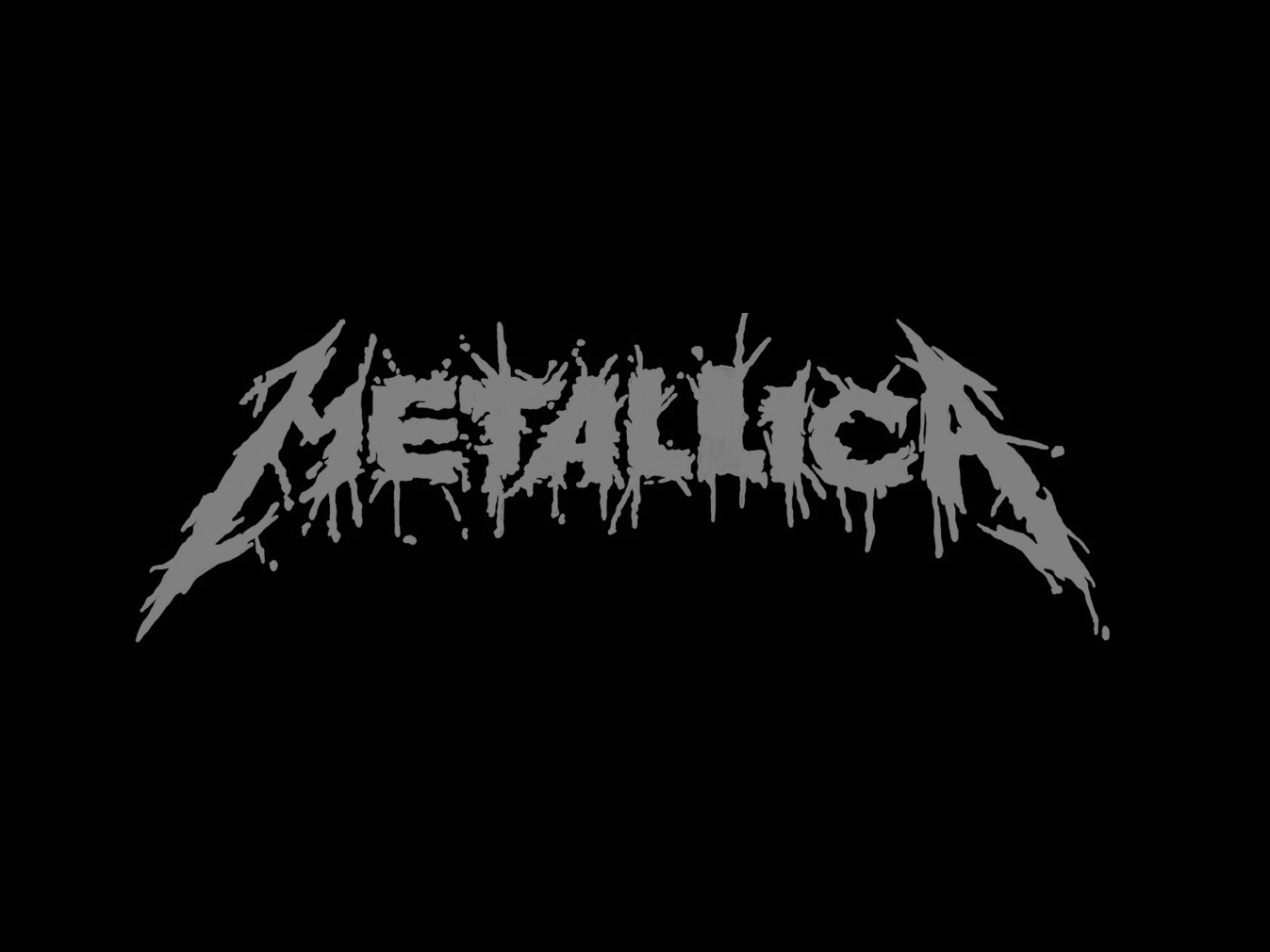 Metallica Logo (Spatter) by Larry Levine on Dribbble.