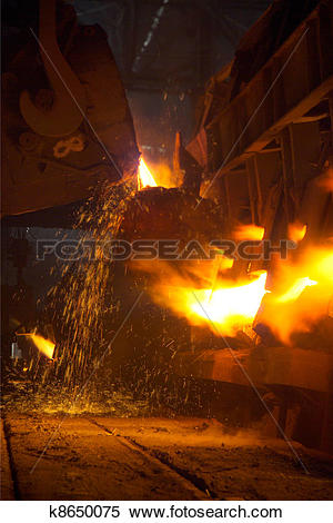 Stock Image of The metallurgical plant k8650075.
