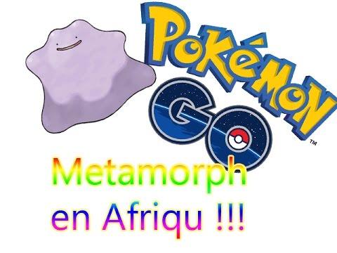 Trailer pokemon go en afrique avec metamorph devoilé !!!.