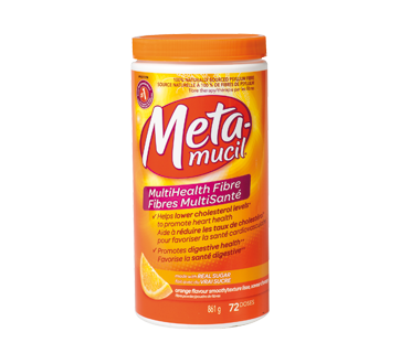 MutliHealth Fibre, 861 g, Orange.