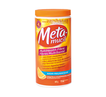 MutliHealth Fibre, 660 g, Orange.