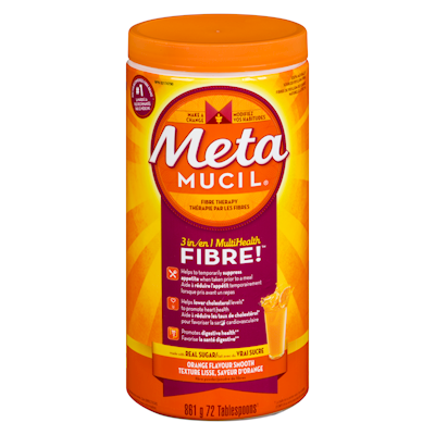 Metamucil Fibre Therapy Smooth Texture Orange Flavour 861g.