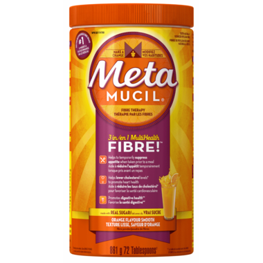 Metamucil 3 in 1 Multi Health Fibre Smooth Texture Powder.