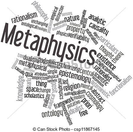 Drawing of Metaphysics.