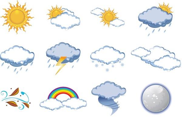 Clipart nuage gris.