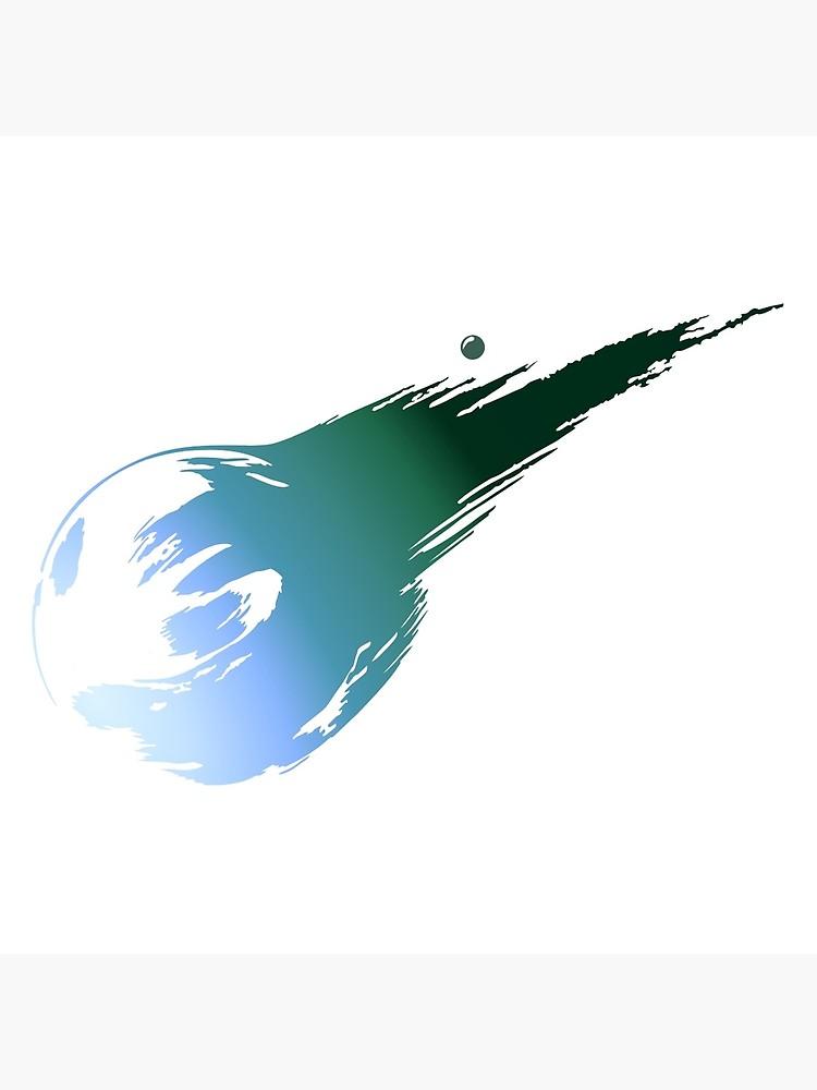 Final Fantasy VII Meteor Logo.