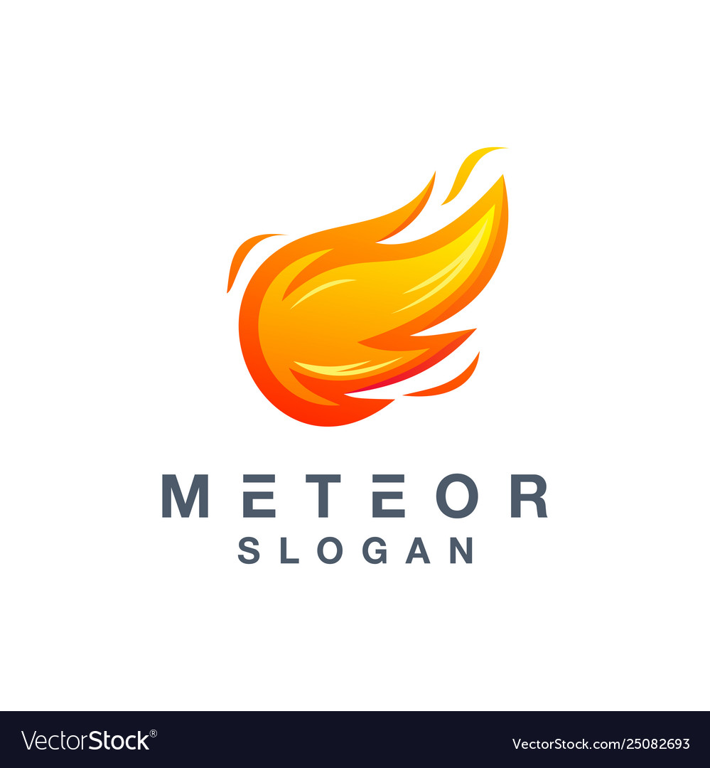 Meteor logo design ready to use for your company.