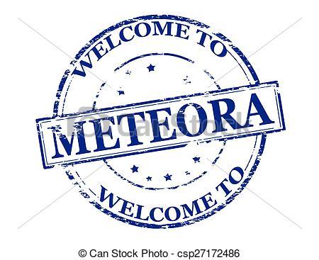 Meteora clipart.