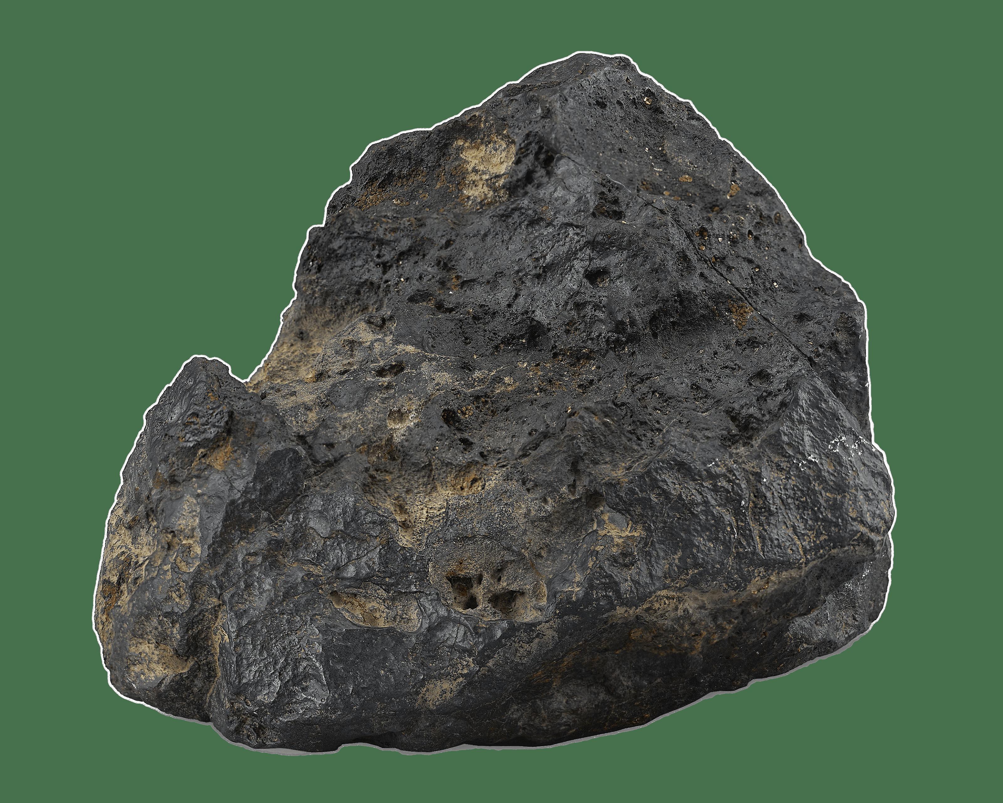 Sierra Nevada Mountains Meteorite transparent PNG.
