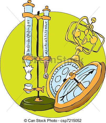Weather instruments clipart.