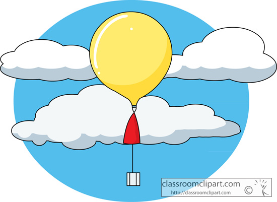 Weather : weather_balloon_226 : Classroom Clipart.