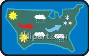 Meteorological clipart.