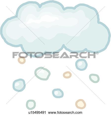 Clipart of season, weather, nature, snow, natural phenomenon.