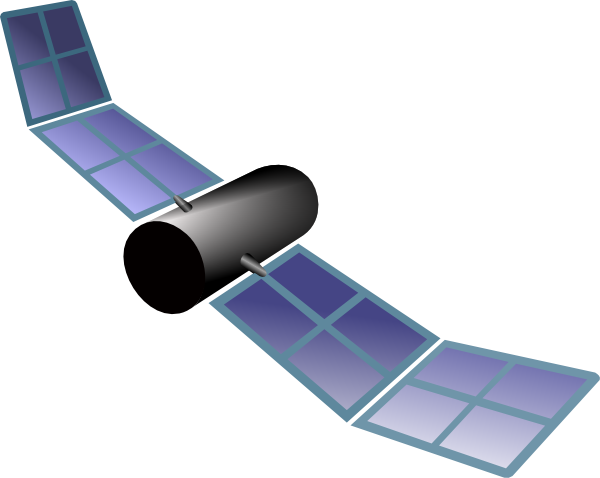 Latest satellite clipart.