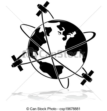 Weather satellite Clipart Vector and Illustration. 335 Weather.