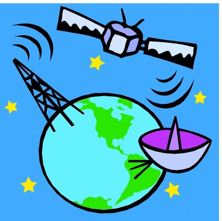 Weather Satellite Clipart.
