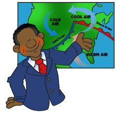 Meteorologist Clipart.