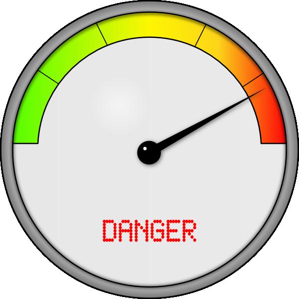 Danger Meter Clip Art at Clker.com.
