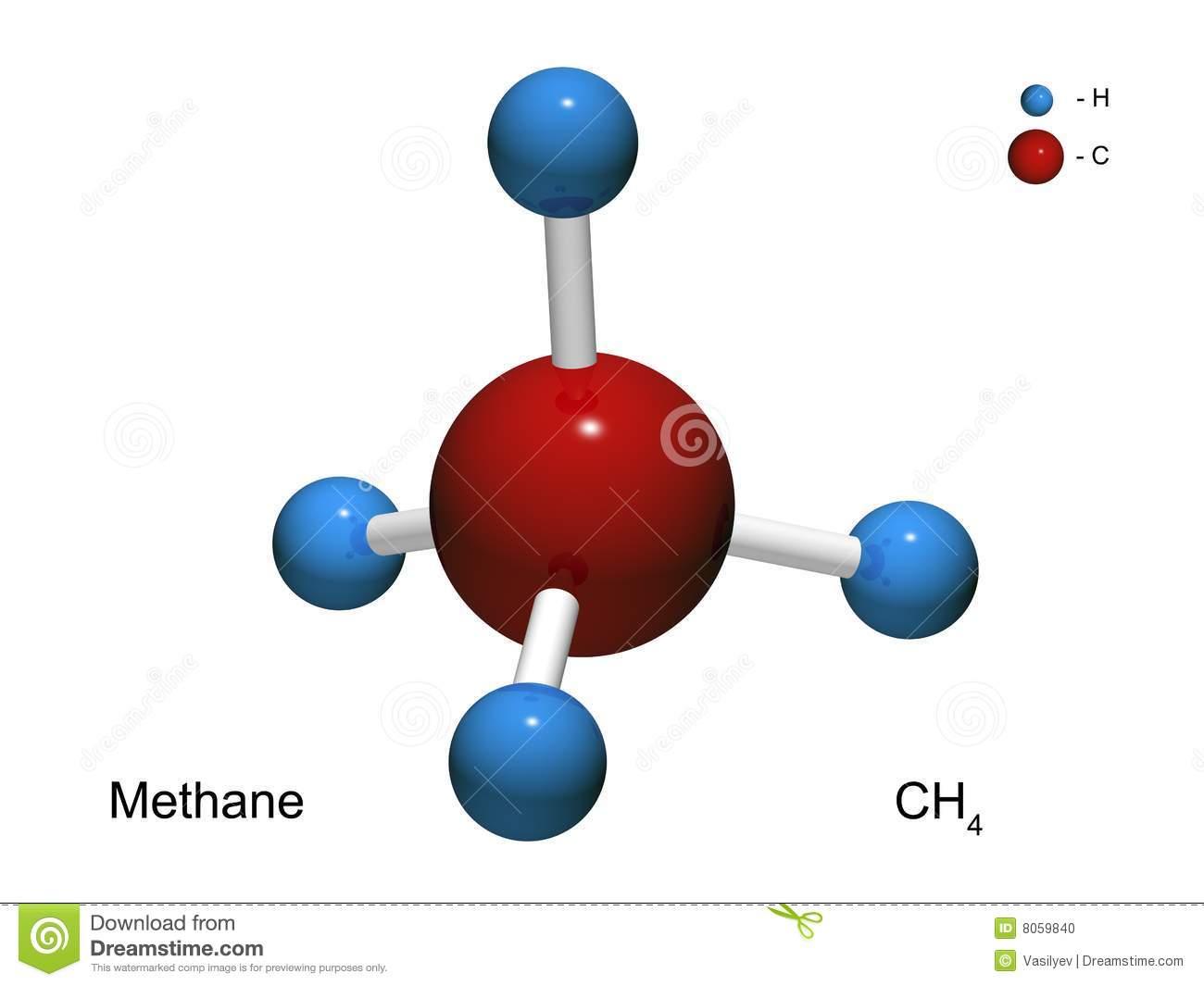 Methane Stock Illustrations.