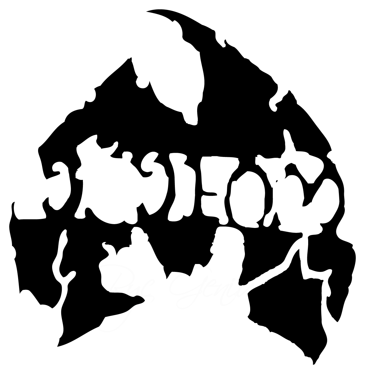 Anybody know it the says in the Method Man logo?.