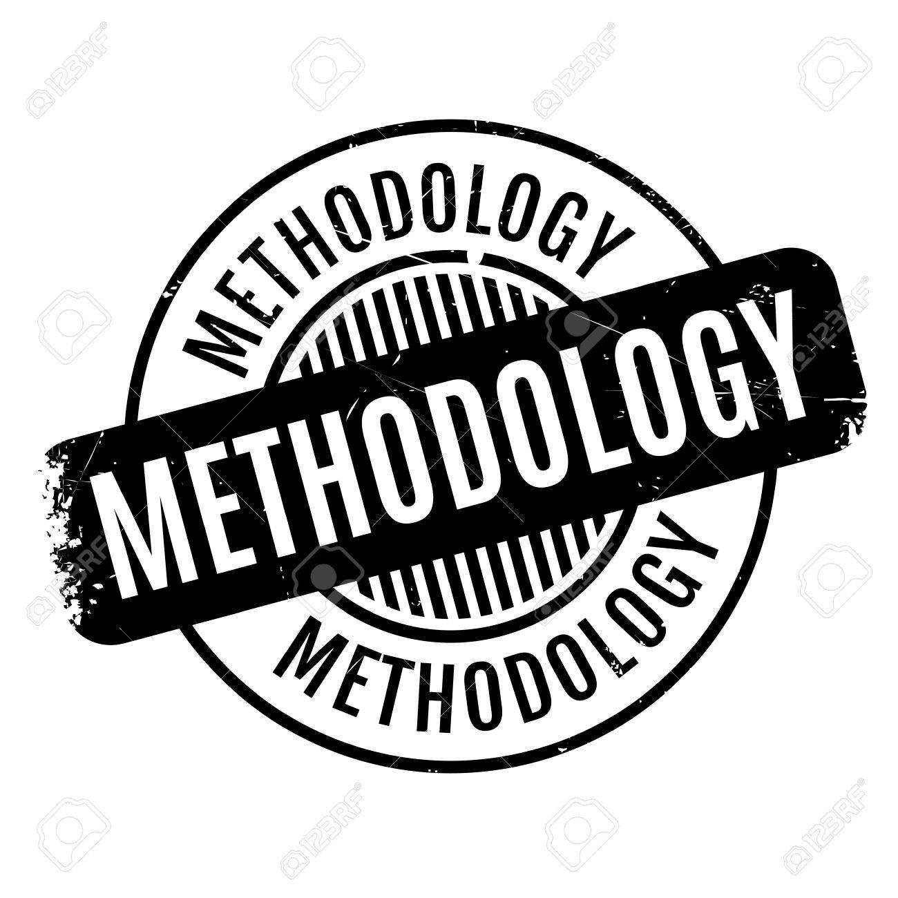 Methodology rubber stamp.