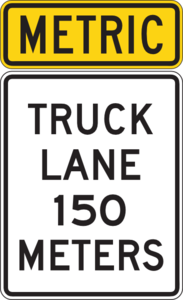Metric Truck Lane Distance Clip Art at Clker.com.