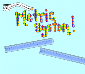 Clipart Metric System.