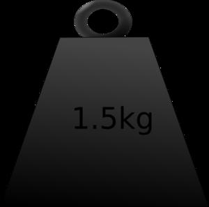 Weight kg clipart.