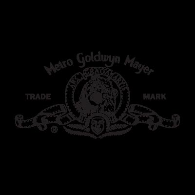 Metro Goldwyn Mayer logo vector free.