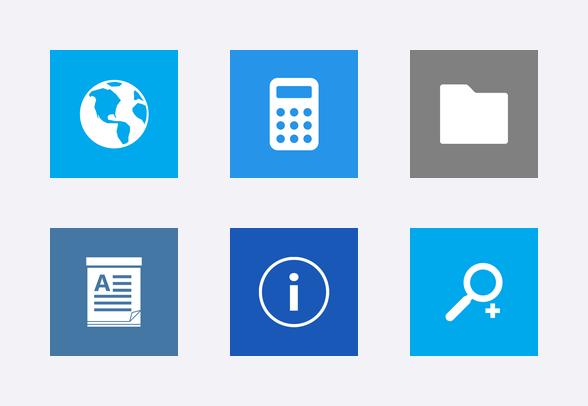 Metro UI Icon Set icons by.