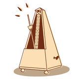 Metronome Stock Illustrations.