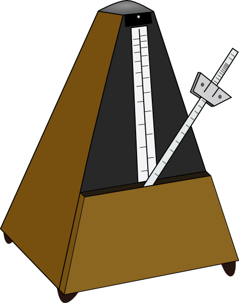 Metronome Clip Art at Clker.com.