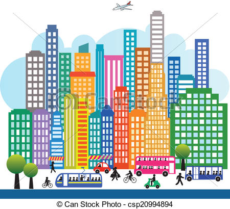 Stock Illustration of metropol.
