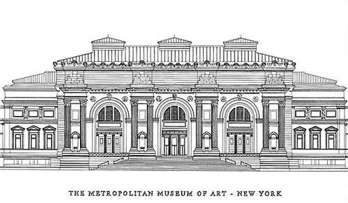metropolitan museum of art clip art.