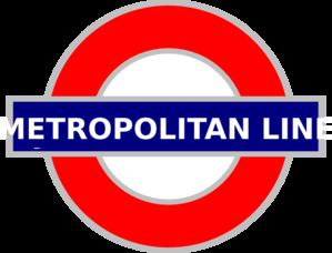 Metropolitan Line Clip Art at Clker.com.